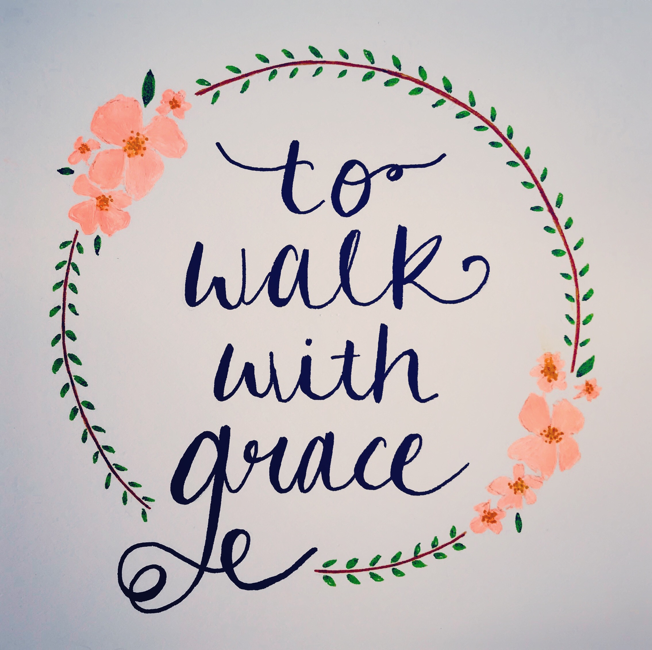 To Walk With Grace